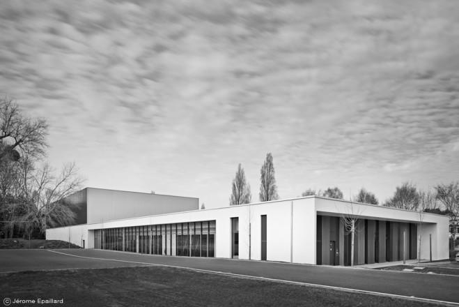Enia Architectes_Salle Omnisport_Base Militaire à Lorient